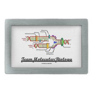 Team Molecular Biology (DNA Replication) Rectangular Belt Buckle