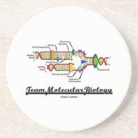 Team Molecular Biology (DNA Replication) Beverage Coasters