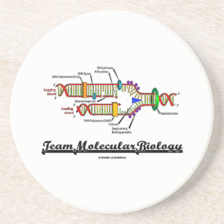 Team Molecular Biology (DNA Replication) Drink Coaster
