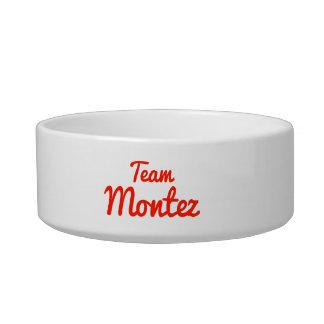 Team Montez Cat Water Bowls