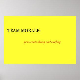 Team Morale Poster