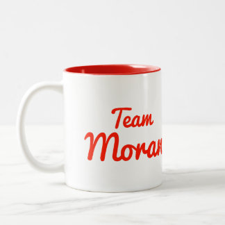 Team Moran Two-Tone Coffee Mug