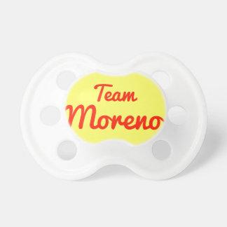 Team Moreno Pacifiers