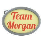 Team Morgan Belt Buckle