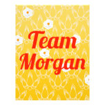 Team Morgan Personalized Flyer