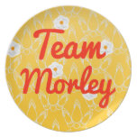 Team Morley Party Plates