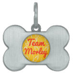 Team Morley Pet Name Tags