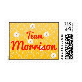 Team Morrison Postage Stamps