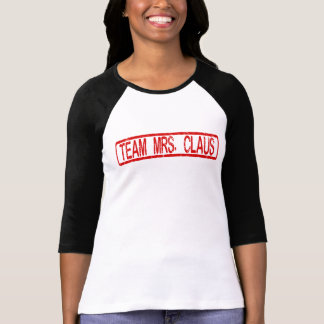 Team Mrs. Claus Christmas T-Shirt