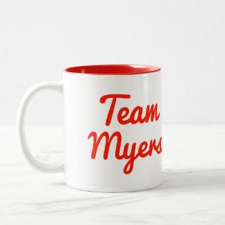 Team Myers Mug