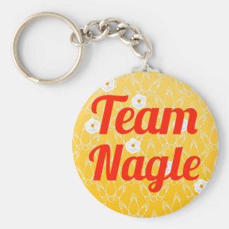 Team Nagle Key Chain