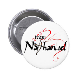 Team NATHANIEL! (light button) Button