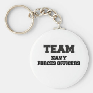 Team Navy Forces Officers Keychains