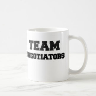 Team Negotiators Classic White Coffee Mug