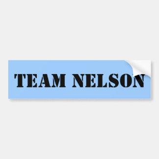 TEAM NELSON BUMPER STICKER