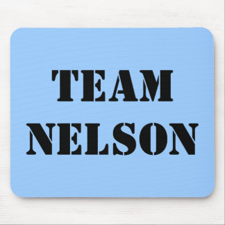 TEAM NELSON MOUSE PAD