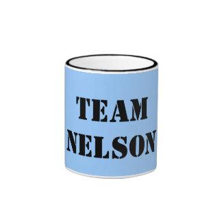 TEAM NELSON COFFEE MUG