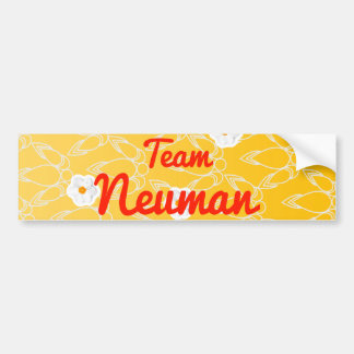 Team Neuman Bumper Sticker