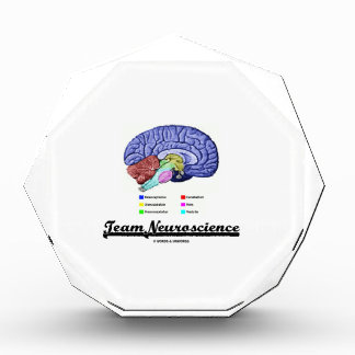 Team Neuroscience (Brain Anatomy Attitude) Acrylic Award