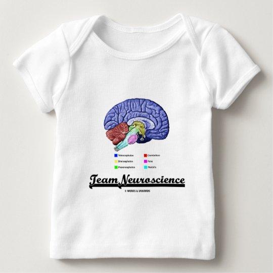 Team Neuroscience (Brain Anatomy Attitude) Baby T-Shirt