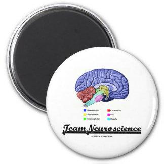 Team Neuroscience Brain Anatomy Attitude Magnets