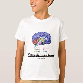 Team Neuroscience (Brain Anatomy Attitude) T-Shirt