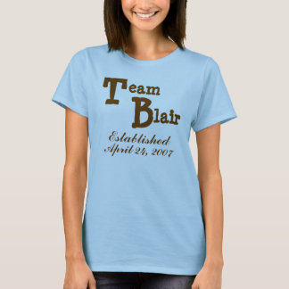 Team Newlywed - Block Letters T-Shirt