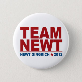 Team Newt Gingrich 2012 Button
