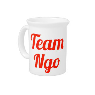 Team Ngo Drink Pitchers