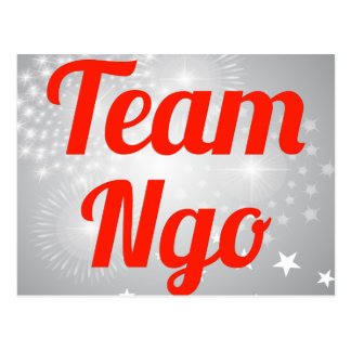 Team Ngo Postcard