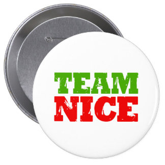 TEAM NICE -.png Pinback Buttons