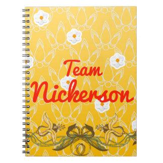 Team Nickerson Spiral Notebook