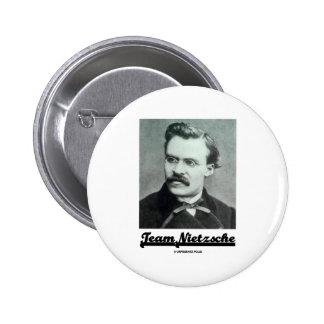 Team Nietzsche Pinback Button