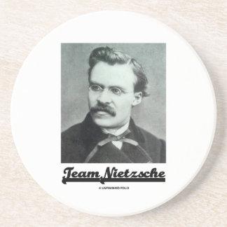 Team Nietzsche (Friedrich Nietzsche) Drink Coaster