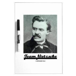 Team Nietzsche (Friedrich Nietzsche) Dry-Erase Board