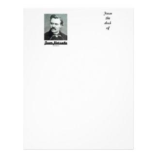 Team Nietzsche (Friedrich Nietzsche) Letterhead Design