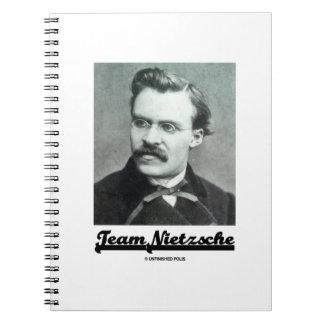Team Nietzsche (Friedrich Nietzsche) Notebook