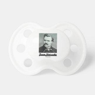 Team Nietzsche (Friedrich Nietzsche) Pacifier