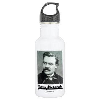 Team Nietzsche (Friedrich Nietzsche) Stainless Steel Water Bottle