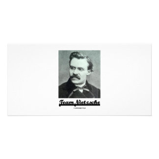 Team Nietzsche Customized Photo Card