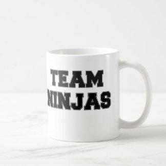 Team Ninjas Coffee Mugs