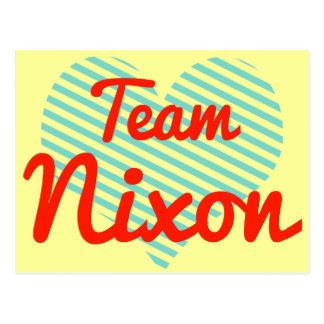Team Nixon Post Card