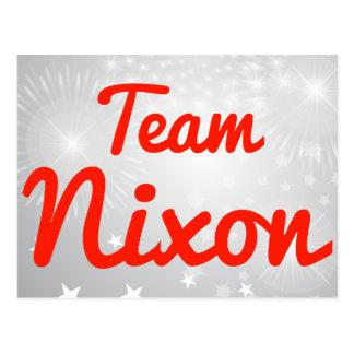 Team Nixon Post Cards