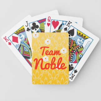Team Noble Bicycle Playing Cards