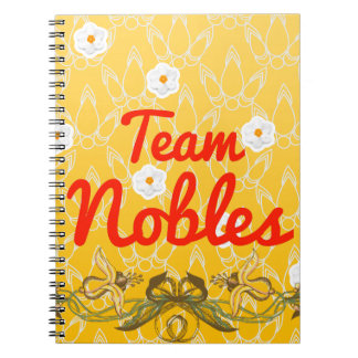 Team Nobles Notebook