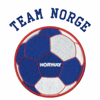 TEAM NORGE Norwegian Sports Embroidered Hoodie