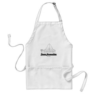 Team Normality (Bell Curve Statistics Humor) Apron