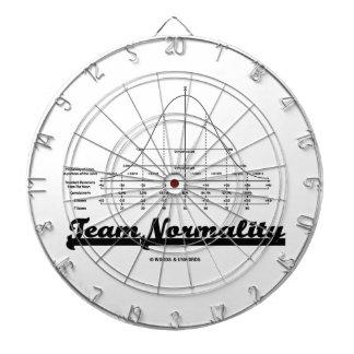 Team Normality (Bell Curve Statistics Humor) Dartboards