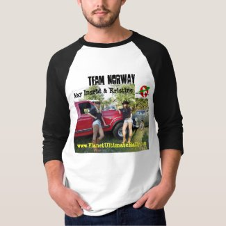 Team Norway * The Ultimate Scandinavian Race Girls T-Shirt