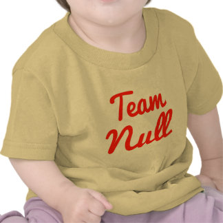 Team Null T Shirts